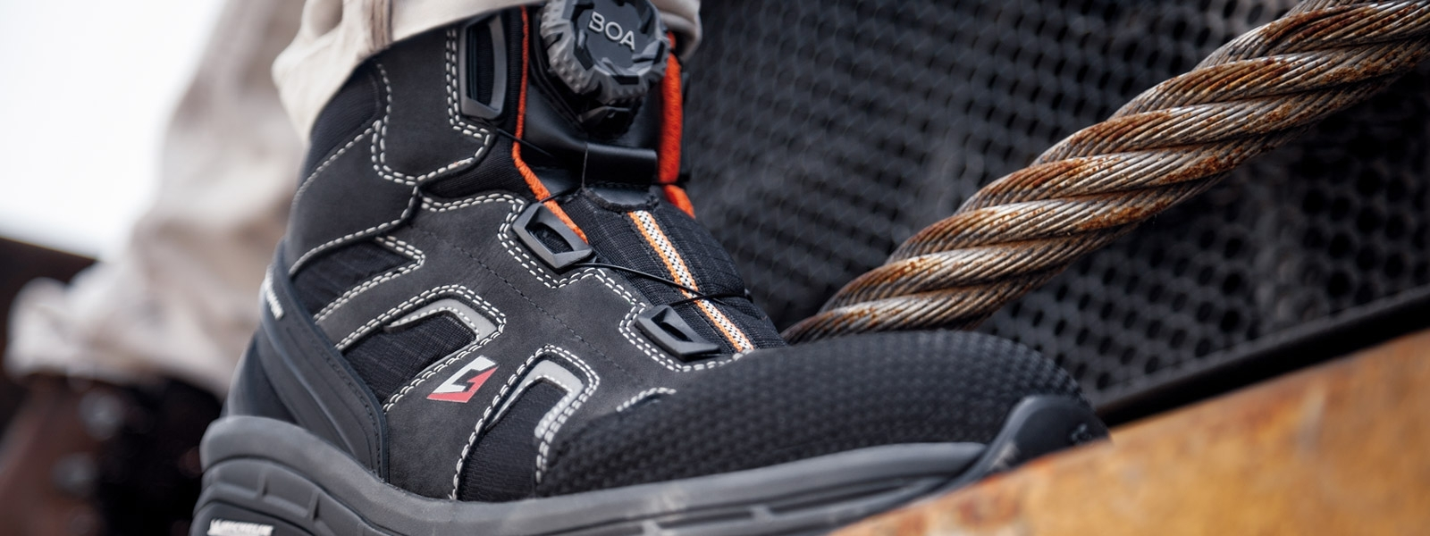 Garsport safety shoes, your safe work shoes