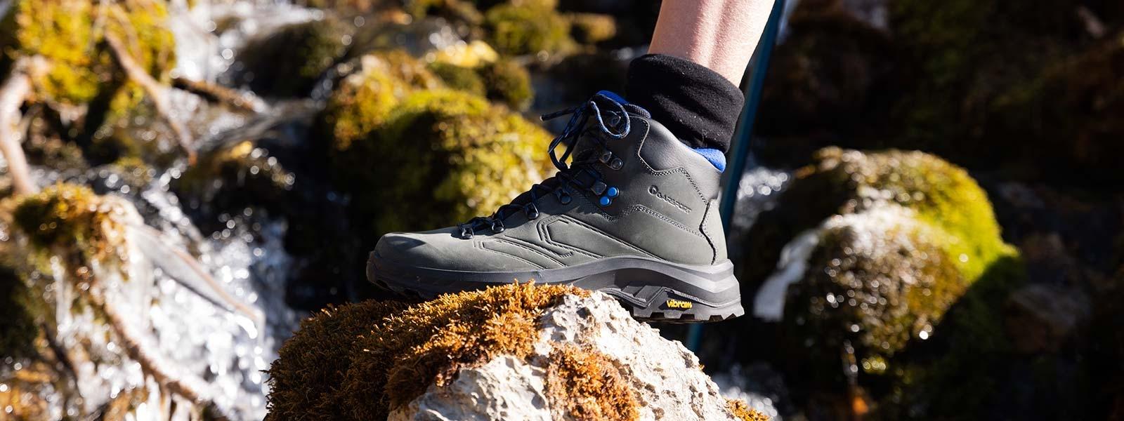 Garsport Trekking Hiking - scarponi trekking waterproof e suola vibram
