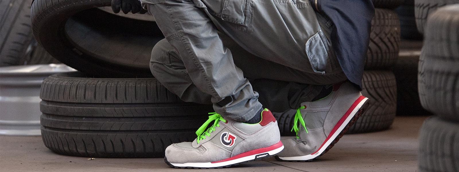 Scarpe antinfortunistiche S1P S3 con suola antistatica Michelin